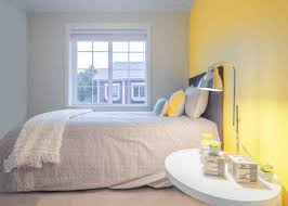 chambre jaune et gris chambre jaune pastel solutions pour la décoration intérieure de
