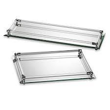 Makeup Vanity Tray Mirror Vanity Trays Bed Bath U0026 Beyond