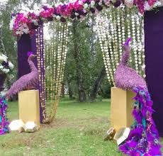 Indian Wedding Decoration Packages Wedding Ideas Peacock Themed Indian Wedding Decor Peacock