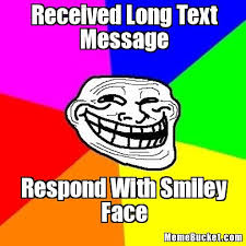 Text Message Meme - received long text message create your own meme