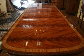 Extra Long Dining Table Seats 12 by Mahogany Dining Table With Extensions Seats 14 People Ebay