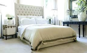 Cheap Leather Headboards by Bedroom Elegant Tufted Bed Design Ideas With Pier One Headboard