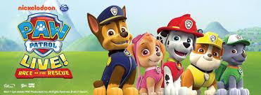paw patrol live u0027race rescue u0027 tickets london theatre
