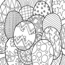 easter coloring pages adults free print