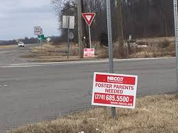 kentucky transportation cabinet jobs illegal signs to be removed from ky highway right of way