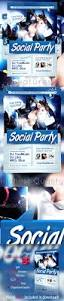 social party flyer template by graficandmedia graphicriver