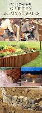 Do It Yourself Backyard Ideas by Best 25 Diy Retaining Wall Ideas On Pinterest Garden Retaining