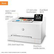 amazon com hp laserjet pro m254dw wireless color laser printer