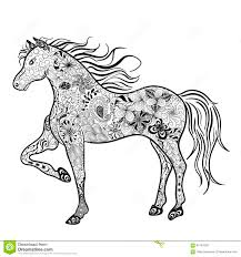 horse doodle stock vector image 64167005