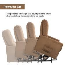 amazon com homall recliner power lift chair easy comfort recliner