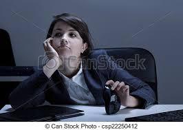 ennui au bureau horizontal ennui bureau vue photographie de stock rechercher