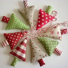 Easy Christmas Decorations To Make At Home The 25 Best Christmas Fabric Crafts Ideas On Pinterest