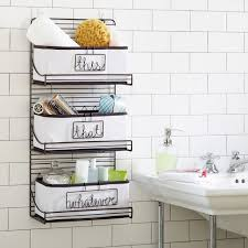 Small Bathroom Wall Shelves 3 Tier Wire Bath Shelf