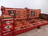 arabisches sofa orientalische sitzecke kelim sitzkissen orientalisches sofa