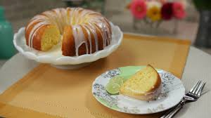 citrus cake with key lime glaze recipe gac