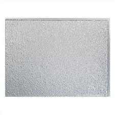 Fasade Backsplash Panels Reviews by Fasade 24 In X 18 In Rib Pvc Decorative Backsplash Panel In