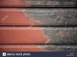 wooden paneling from a house that was partially burnt in a fire in