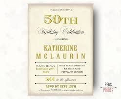 18 best 50th birthday invites images on pinterest 50th birthday