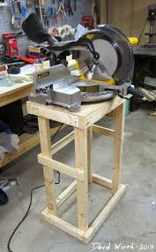 dewalt miter saw cart