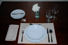 table setting basic dinner table set up diagram big image png