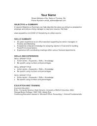 exles of elementary resumes resume exles elementary school for education objective