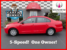 volkswagen red car pre owned 2012 volkswagen jetta sedan s 4dr car in manheim 471869