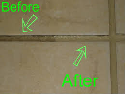a few words on grout cleaning