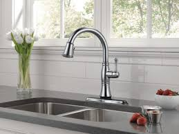 Delta Charmaine Single Handle Pull by Kitchen Faucet Adorable Delta Charmaine Faucet Delta Waterfall