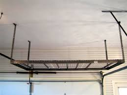 Garage Ceiling Storage Systems by Garage Overhead Storage Systems Overhead Storage Solutions
