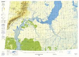 Central Michigan University Map Tactical Pilotage Charts Perry Castañeda Map Collection Ut