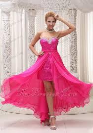 pink beaded sweetheart detachable chiffon prom dress