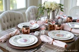 Table Setting by How To Style A Soft And Neutral Fall Table Setting