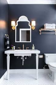 Navy And White Bathroom Ideas Paint Color Portfolio Blue Bathrooms Blue Bathrooms