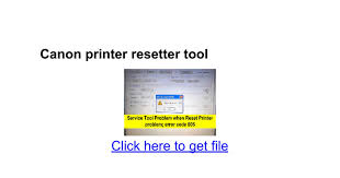 tool reset printer canon ip2770 canon printer resetter tool google docs