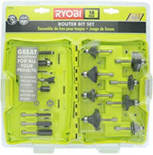 home depot black friday router bit set amazon com ryobi re180pl1g 2hp peak 10 amp plunge router electronics