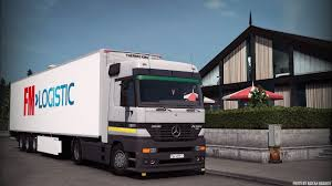 mercedes benz actros mp4 red mercedes benz actros mod for ets 2