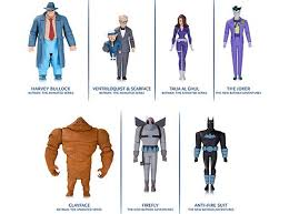 release schedule for new batman animated series figures
