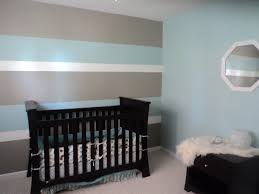 Which Wall Should Be The Accent Wall by My Son U0027s First Nursery Hubby And I Painted 3 Toned Horizontal