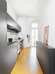 narrow kitchen designs popular narrow and long kitchen designs