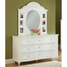 princess bedroom bed dresser u0026 mirror twin 2286 bedroom