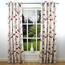 modern print curtains modern leaf print curtains cream spice