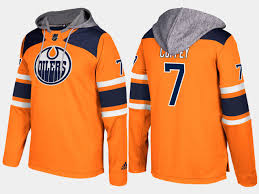 shop nhl edmonton oilers name and number hoodie gears in our shop