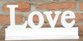 Word Blocks Home Decor Very Popular Decorative Wood Art Wooden Words Love Stand On The