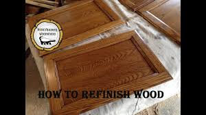 How To Strip And Refinish by Strip And Refinish Wood Furniture How To Youtube