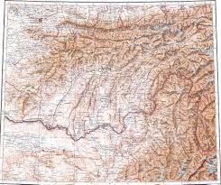 Tajikistan Map Mazar I Shariff 1 1000000 Russian Military Map Http Download