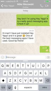 buy hey yapp whatsapp app template ios u0026 android chat and