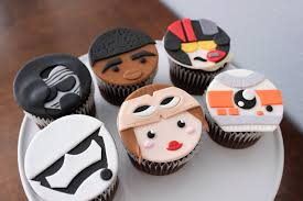 wars edible cake toppers 12 edible wars the awakens fondant cupcake toppers