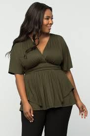 Stylish Plus Size Clothes 163 Best Color Green With Envy Images On Pinterest Plus Size