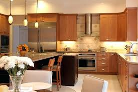 Natural American Maple Shaker Kitchen Cabinets Sienna Shaker - Natural maple kitchen cabinets