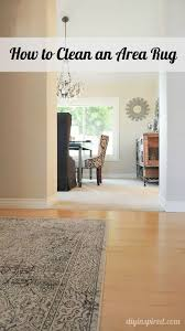 Area Rug Cleaning Tips How To Clean An Area Rug Helpful Hints Diy Ideas And Household